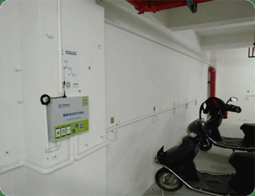 电动车智能充电站舟山成功案例1